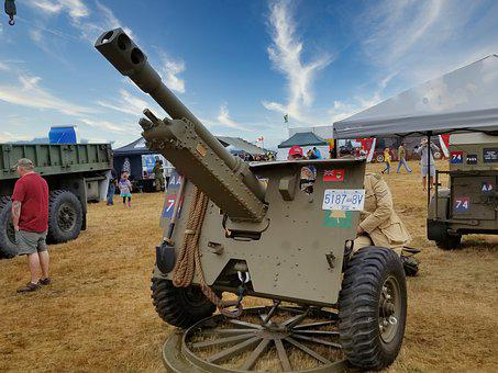 Howitzer, Cannon, Gun, Technology, Equipment