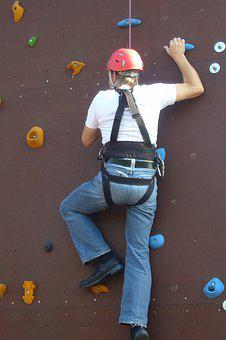 Climb, Sport, Mountaineer, Hiking, Mountaineering, Man