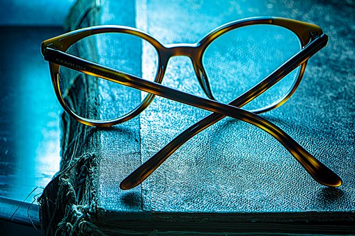 Eyeglasses, Book Day, Illusion, Eye Vision, Display