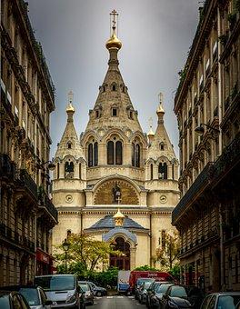 Cathedra, Paris, Garden, France, Trocadero, Historical