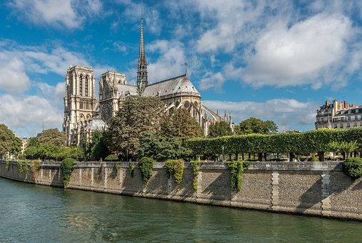 Paris, Notredame, Architecture, Cathedral, Travel