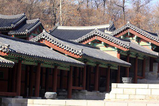 Palaces, Roof, Roof Tile, Construction, Traditional