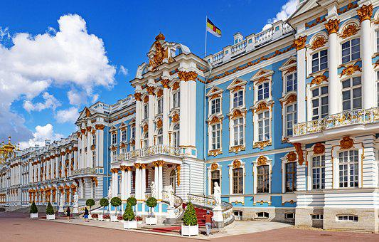 Russia, St, Petersburg, Architecture