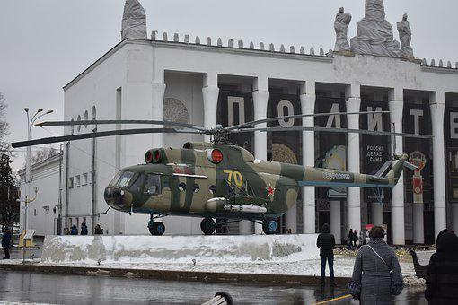 Helicopter, Soviet, Russian, Military, Hip