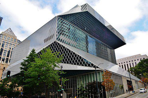 Seattle, Seattle Central Library, Tourism, City, Usa