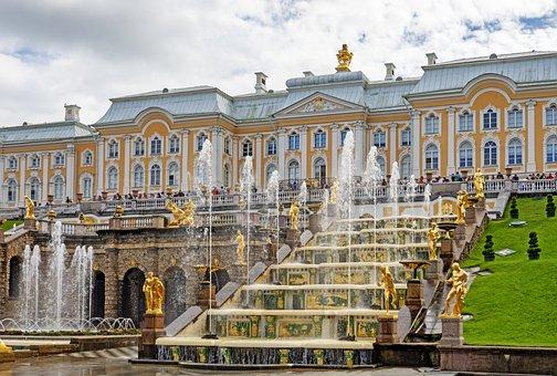 Russia, Peterhof, St, Petersburg