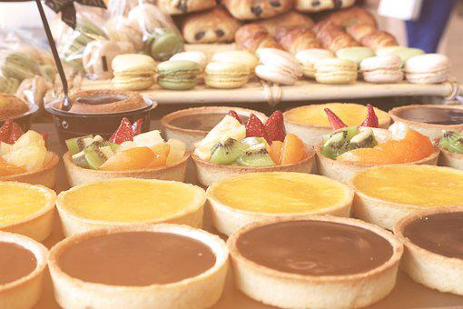 Dessert, Pastry, Tart, Fruit Basket, Sugar, Sweet