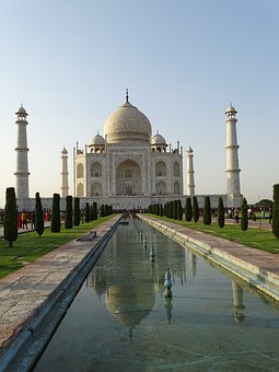 Taj Mahal, Agra, India, Architecture, Mausoleum, Tomb