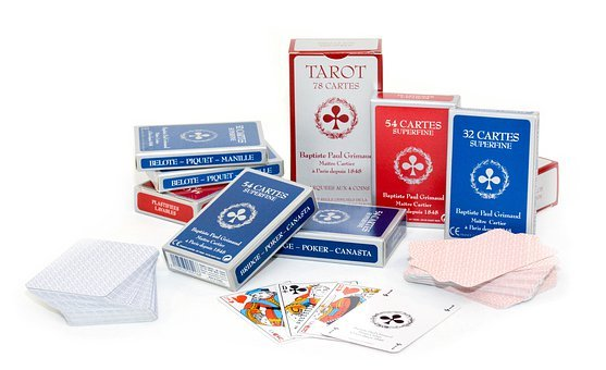 Playing Cards, French, Tarot