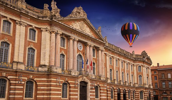 Toulouse, Tolosa, Capitole, City, Architecture, Travel