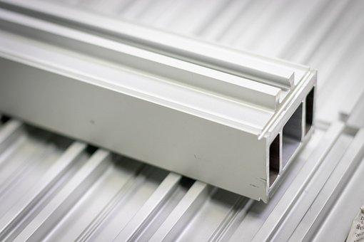 Seitenprofil, Werstück, Aluminium, Side Profile