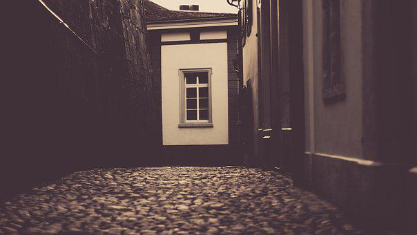 Solothurn, Vintage, Alley, Old, Architecture, Casing