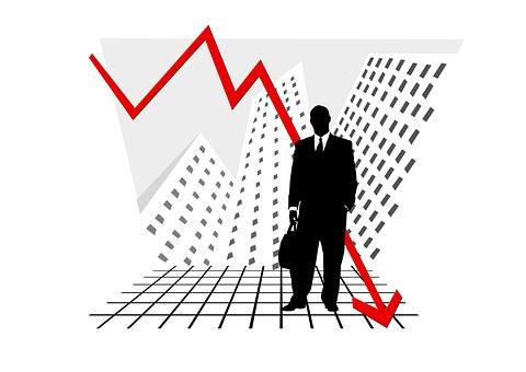 Crash, Statistics, Chart, Graphic, Bar, Symbol, Arrow