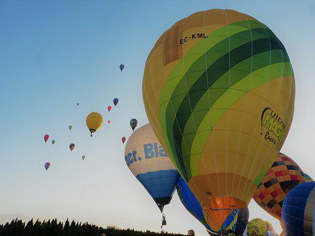 Balloons, Air, Balloon, Travel, Adventure, Colorful
