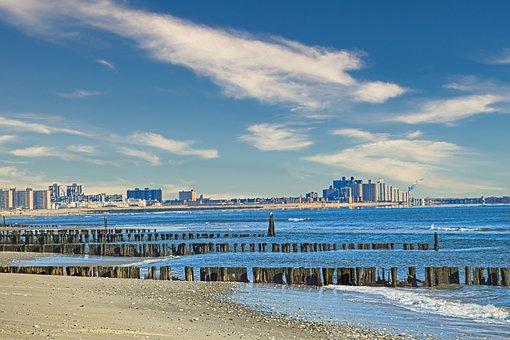 Rockaway Beach, Queens, New York City, Beach, Ocean