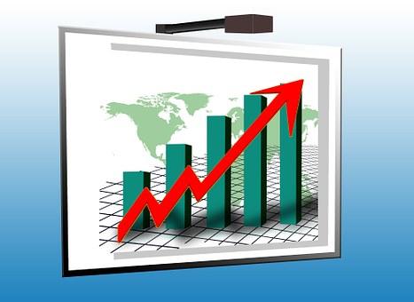 Analysis, Statistics, Chart, Graphic, Bar, Arrow