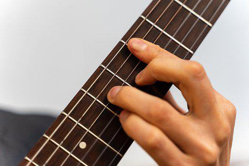 Guitar, Neck, Handle, Chord, Music, Instrument, Musical