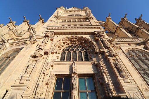 Church Of Saint-eustache, Paris, France