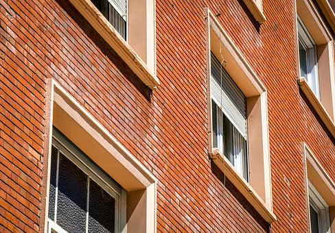 Facade, Window, Clinker, Architecture, Building