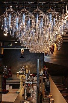 Bar, Glasses, Counter, Glass, Pub, Restaurant