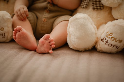 Baby, Baby Shoes, Doll, Cute, Children, Birth
