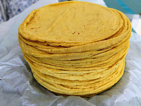 Tortillas, Corn, Flour, Cornflour, Masa Harina, Food