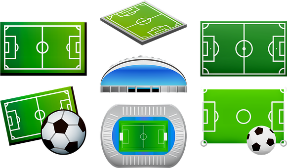 Soccer Field, Football Arena