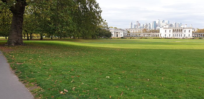 Greenwich, London, Garden, England, Tourism, Skyline