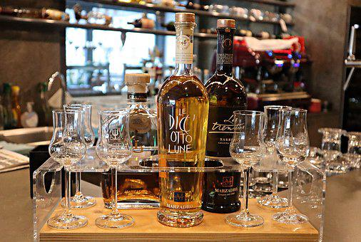 Grappa, Brandy, Alcohol, Benefit From, Bottles
