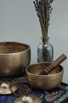 Singing Bowls, Tingsha, Buddhism, Sound, Meditation