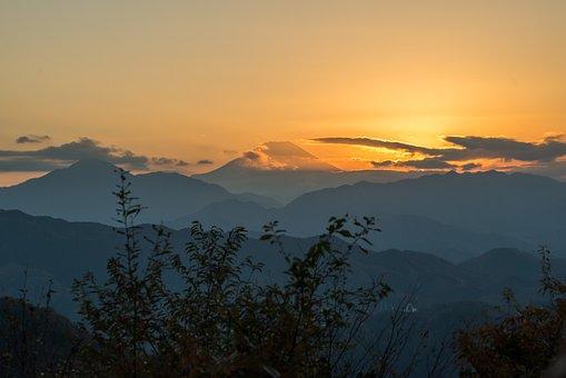 Mt Fuji, Japan, Mt Takao, Mount Takao, Mount Fuji, Hike