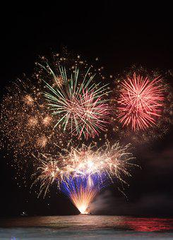New Year, Fireworks, Celebration, Party, Explosion