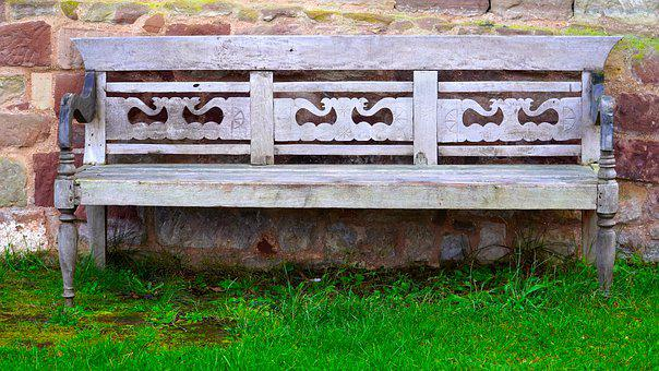 Bank, Bench, Wood, Seat, Rest, Park Bench, Wooden Bench