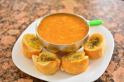 Soup, Food, Bread, Bakery, Breakfast, Protein, Healthy