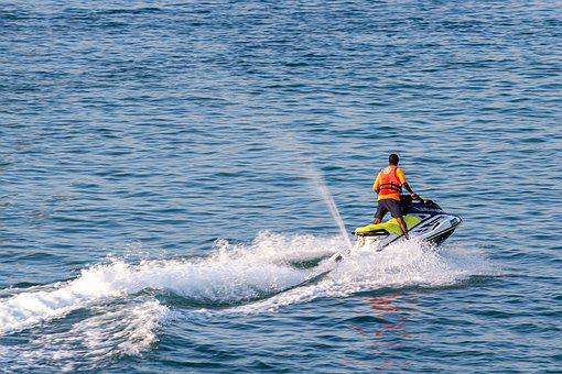 Jet Ski, Sport, Activity, Water Sports, Sea, Vacations