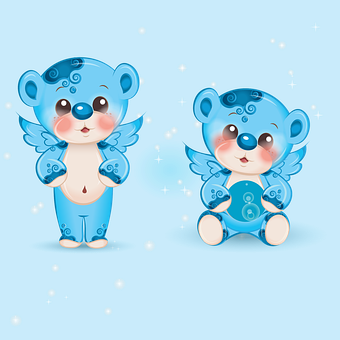 Blue, Bears, Teddy Bear, The Bear, Nice, Toy