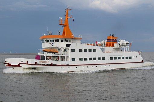 Water, Ferry, Ship, Boat, Sea, Drive, Lake, Travel