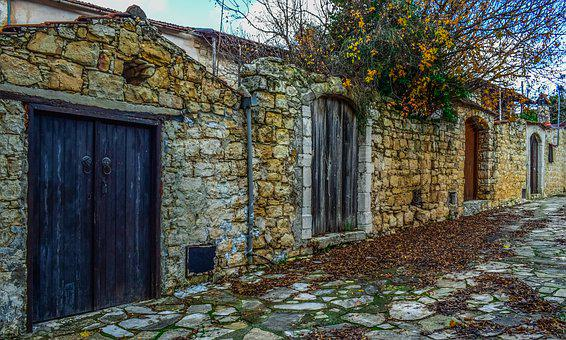 Doors, Old, Wooden, Architecture, Traditional, Exterior