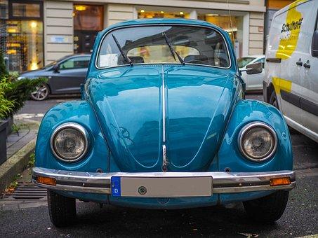 Auto, Volkswagen, Oldtimer, Vehicle, Automotive, Vw
