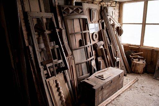 Workshop, Wood, Carpentry, Decor, Beautiful Light