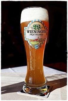 Beer, Wheat Beer, Beer Glass, Drink, Beer Garden