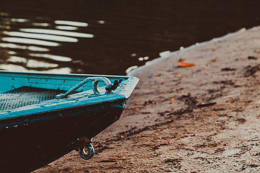 The River's Fish And, Beach, Boat, Brazil, Goiás