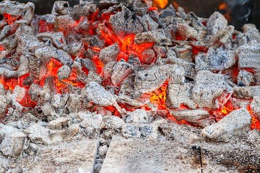Carbon, Fire, Grill, Burn, Hot, Campfire, Fireplace