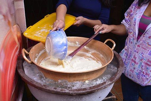 Colorful, Ice Cream, Handmade, Cooper