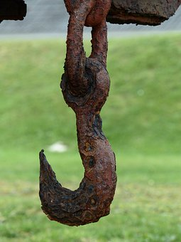 Hook, Rust, Metal, Rusted, Iron, Train, Corrosion