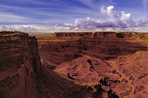 Desert, Utah, River, Landscape, Travel, Usa, Nature