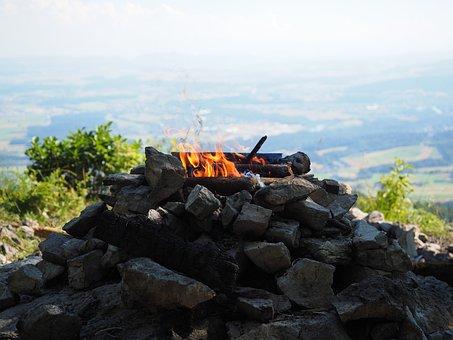 Fire, Flame, Grill Fire, Burn, Campfire