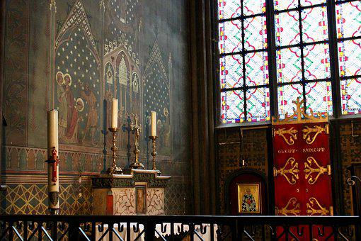 Notre-dame, Paris, France, Dom, Church, Tourism