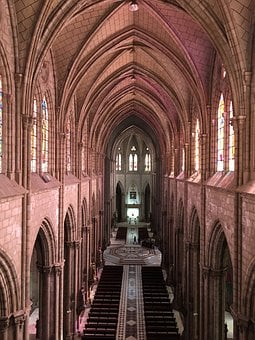 Church, Nave, Cathedral, Dom, Gothic, Architecture