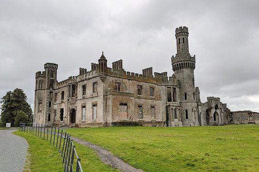 Ducketts Grove, Carlow, Ireland, Castle, Architecture